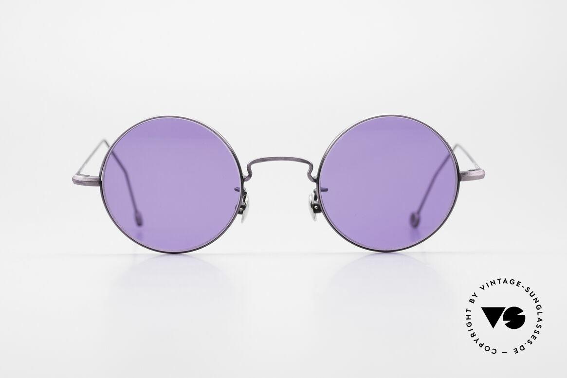 Cutler And Gross 0408 Runde Designer Vintage Brille, klassisch, zeitlose Understatement Luxus-Sonnenbrille, Passend für Herren und Damen