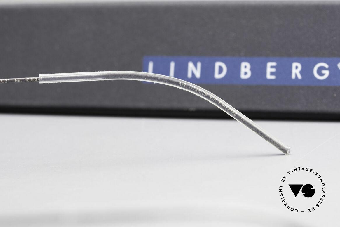 Lindberg Zeta Air Titan Rim Ovale Titanium Brille Unisex