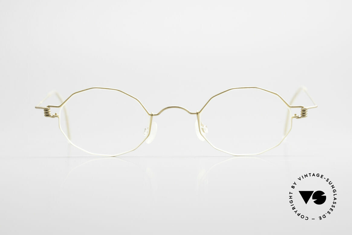 Lindberg Zeta Air Titan Rim Small Titanium Brille Unisex, vielfach ausgezeichnet hinsichtlich Qualität und Design, Passend für Herren und Damen