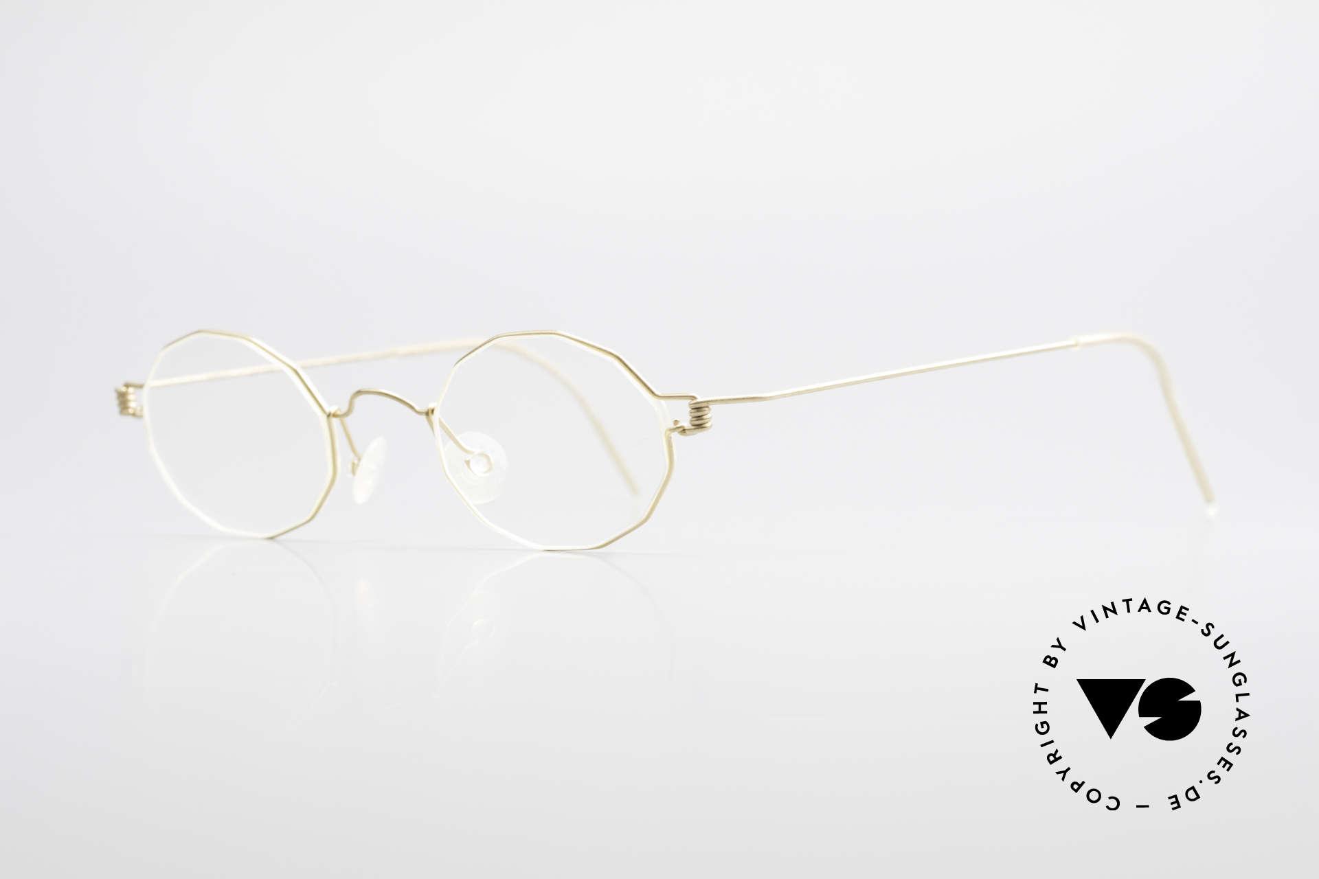 """Lindberg Zeta Air Titan Rim Small Titanium Brille Unisex, so zeitlos, stilvoll und innovativ = Prädikat """"VINTAGE"""", Passend für Herren und Damen"""