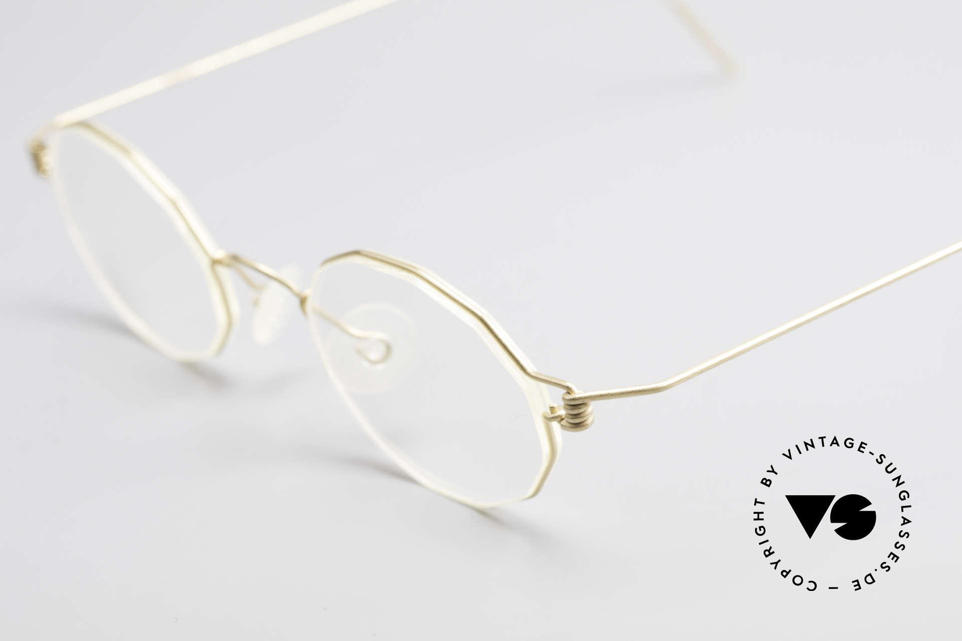 Lindberg Zeta Air Titan Rim Small Titanium Brille Unisex, ungetragenes Designerstück + orig. Lindberg Magnet-Etui, Passend für Herren und Damen
