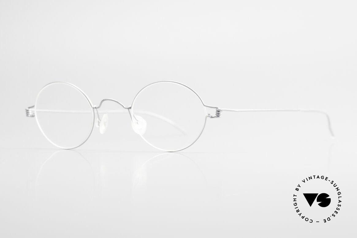 Lindberg Pio Air Titan Rim Runde Titanium Brille Unisex
