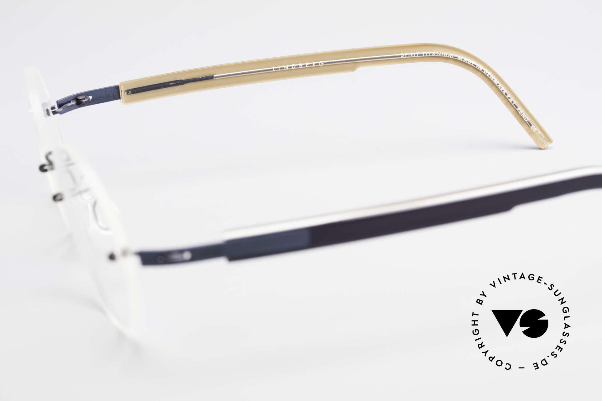 Lindberg 2111 Spirit Titan Randlose Titanium Brille Rund, Größe: extra small, Passend für Herren und Damen