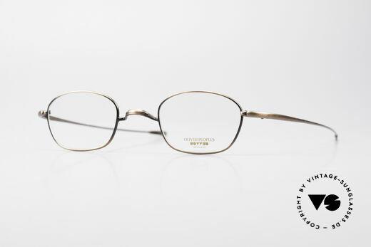Oliver Peoples OP554 Rare Vintage Brillenfassung Details