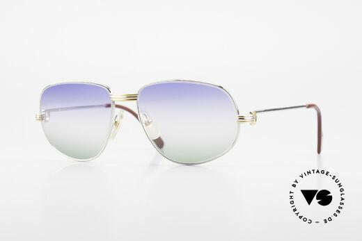 Cartier Romance LC - M Platin Edition Sonnenbrille Details