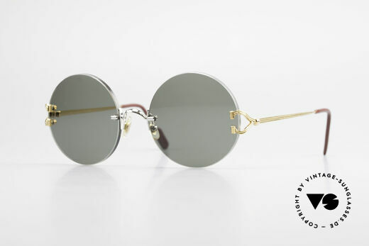 Cartier Madison Runde Customized Sonnenbrille Details