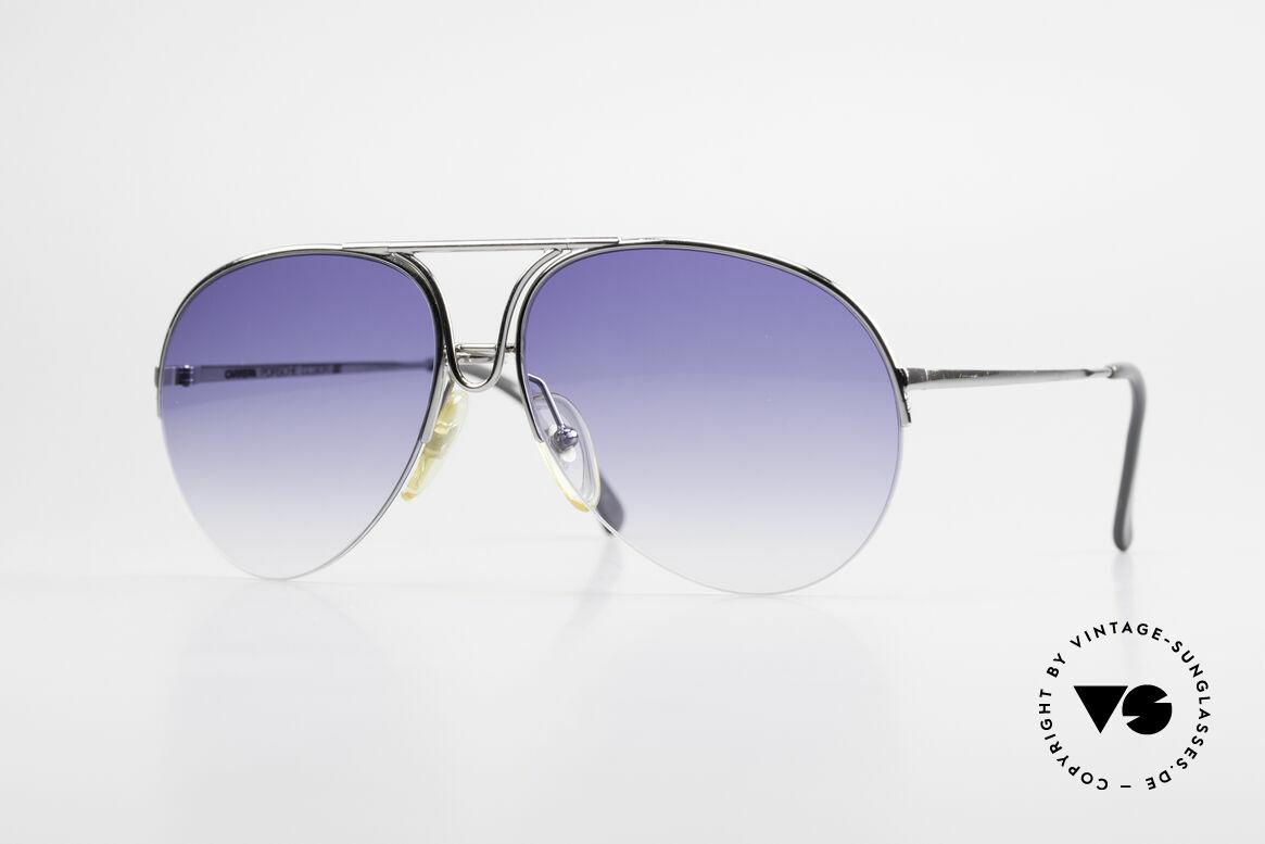 Porsche 5627 90er Aviator Sonnenbrille, edle Designer-Sonnenbrille von Porsche Design, Passend für Herren