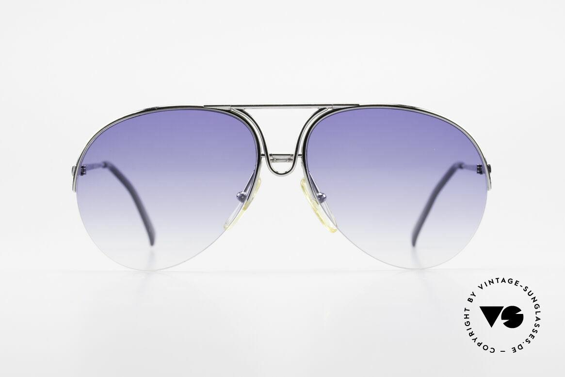 Porsche 5627 90er Aviator Sonnenbrille, rahmenlos = sehr leicht und hoher Tragekomfort, Passend für Herren