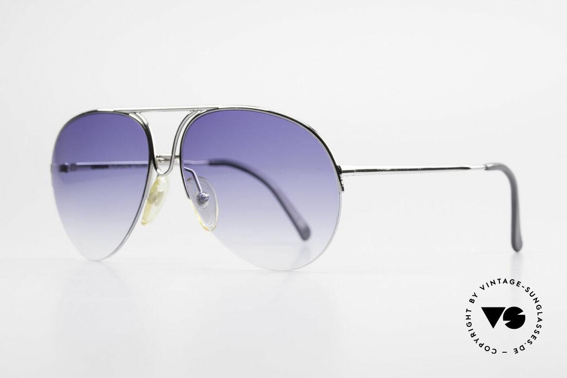 Porsche 5627 90er Aviator Sonnenbrille, klassische Pilotenform aus den guten alten Zeiten, Passend für Herren