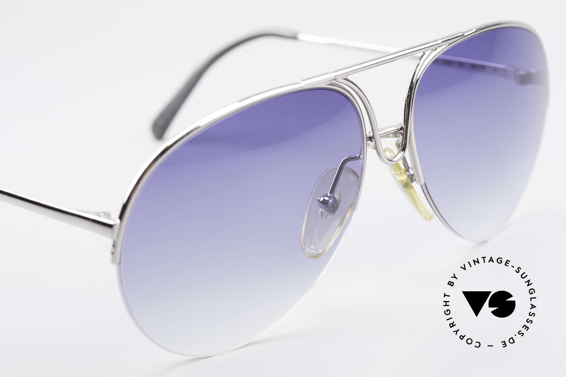 Porsche 5627 90er Aviator Sonnenbrille, KEINE Retrobrille, sondern ein Original von 1991, Passend für Herren