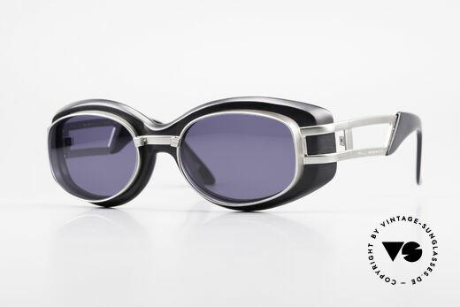 Yohji Yamamoto 52-6201 90er Steampunk Sonnenbrille Details