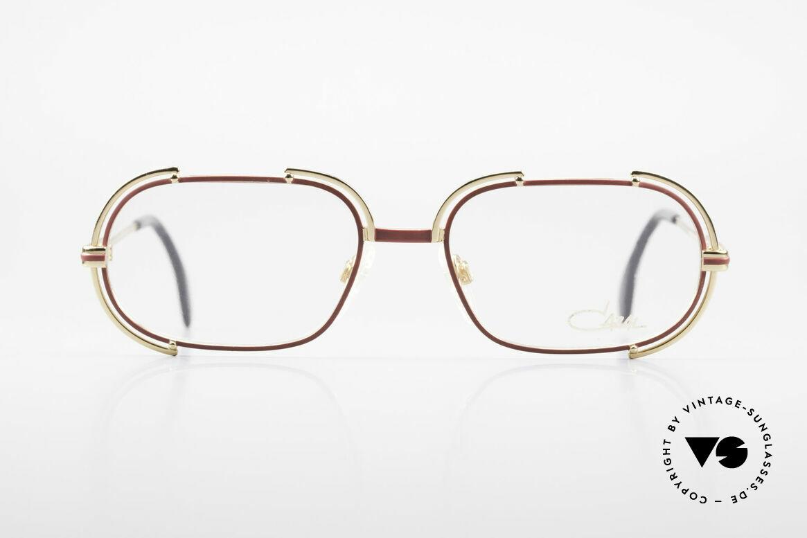 Cazal 237 80er Original No Retrobrille, vintage Cazal Brillengestell aus den späten 80er Jahren, Passend für Damen
