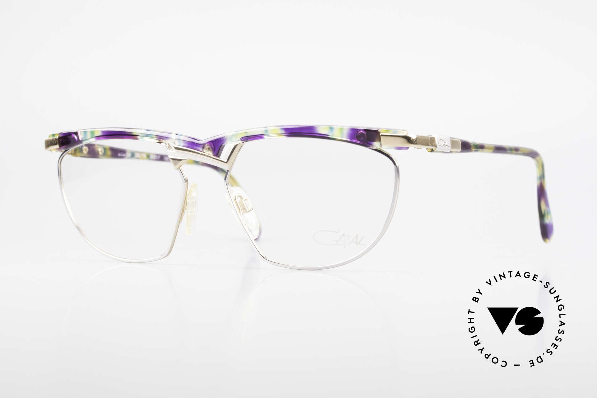Cazal 252 90er Original True Vintage, außergewöhnliche Cazal Designerbrille der frühen 90er, Passend für Herren und Damen