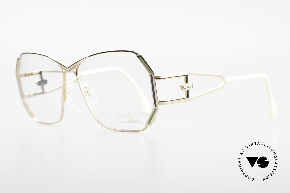 Cazal 225 Old School 80er HipHop Brille, beliebtes HipHop Accessoire - damals wie auch heute, Passend für Damen