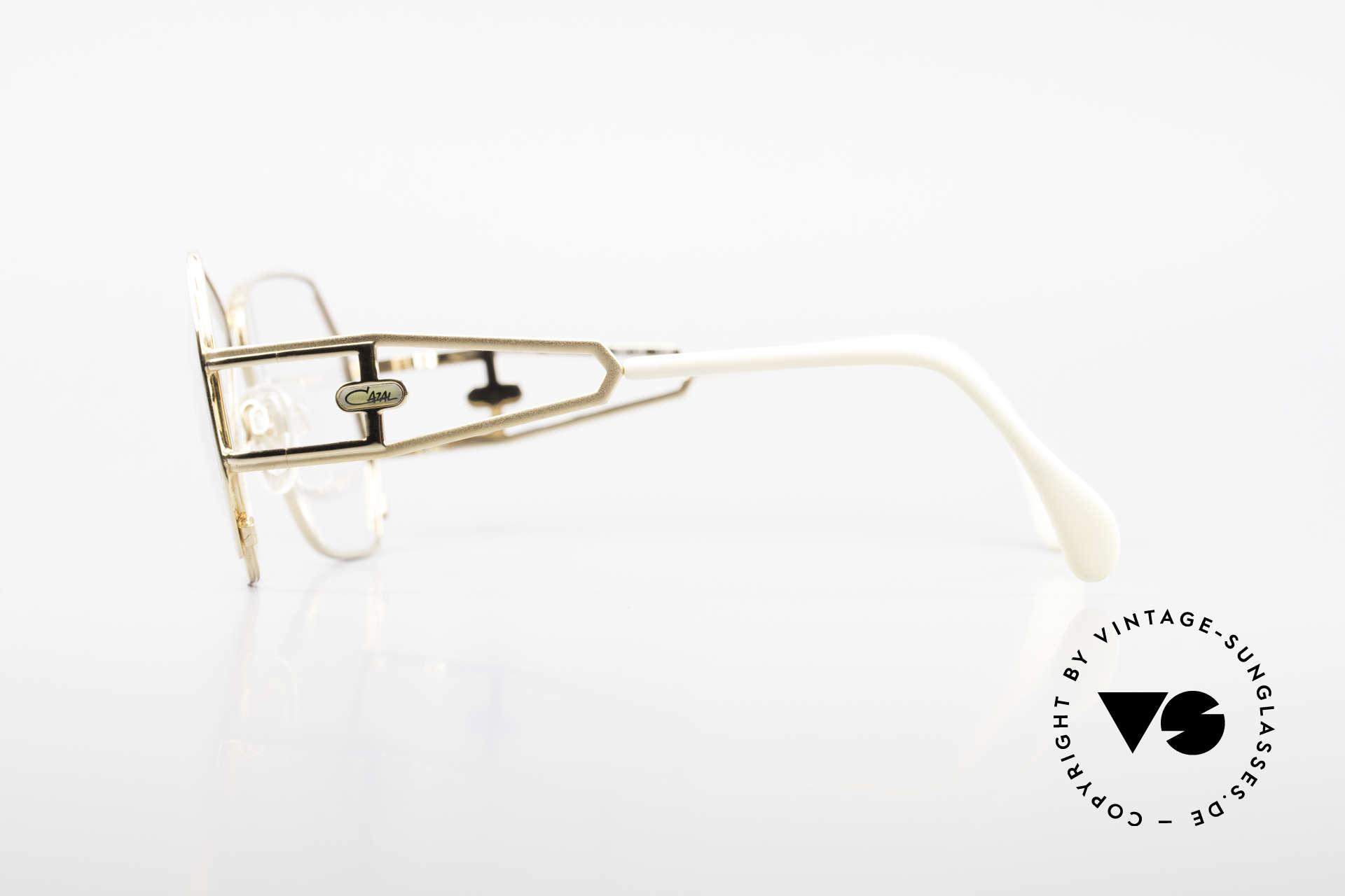 Cazal 225 Old School 80er HipHop Brille, ungetragen (wie alle unsere alten Designer-Originale), Passend für Damen