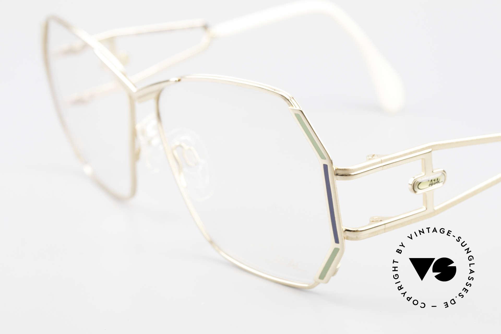 Cazal 225 Old School 80er HipHop Brille, KEINE RETROBrille, sondern ein echtes vintage Unikat, Passend für Damen