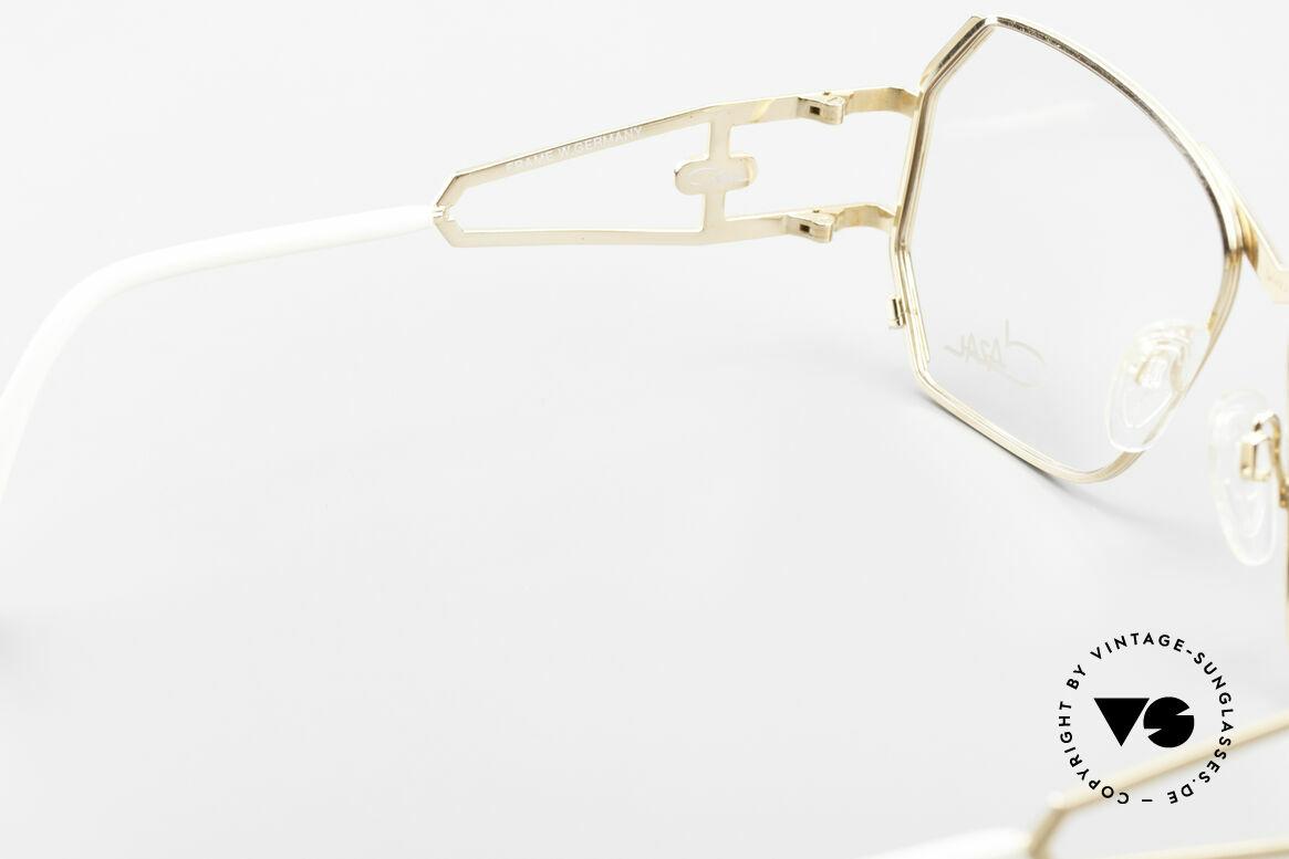 Cazal 225 Old School 80er HipHop Brille, Größe: medium, Passend für Damen