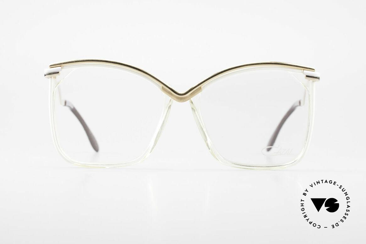 Cazal 157 Tolle Alte Cazal Damenbrille, seltene 80er Jahre Cazal vintage Designerbrille, Passend für Damen