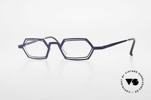 Theo Belgium Reflexs Vintage 90er Brille No Retro Details