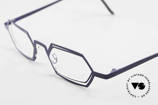 Theo Belgium Reflexs Vintage 90er Brille No Retro