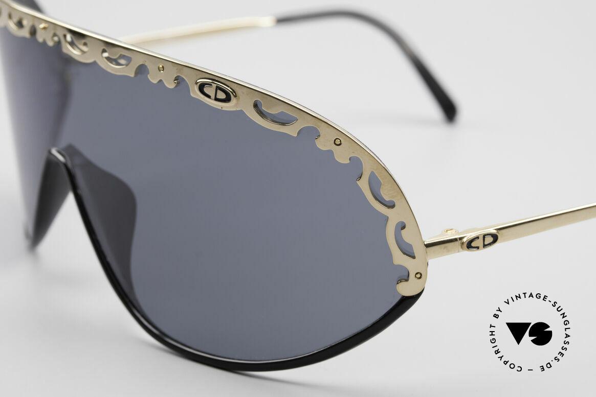 Christian Dior 2501 80er Sonnenbrille Polarized, hoher Tragekomfort und Top-Qualität (polarisierend), Passend für Damen