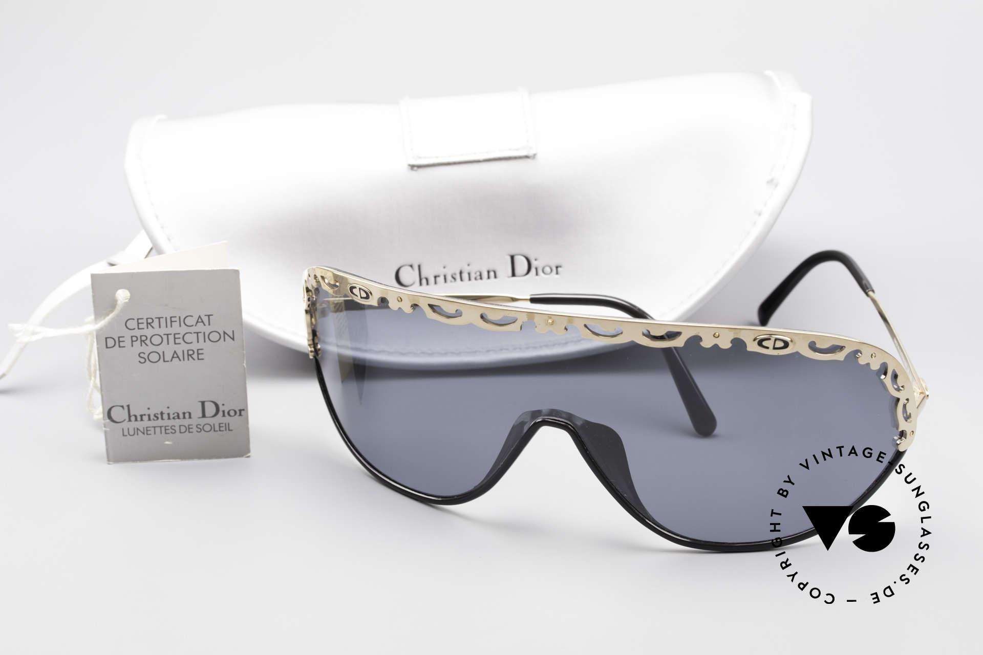 Christian Dior 2501 80er Sonnenbrille Polarized, KEINE Retromode, sondern ein einzigartiges Original!, Passend für Damen
