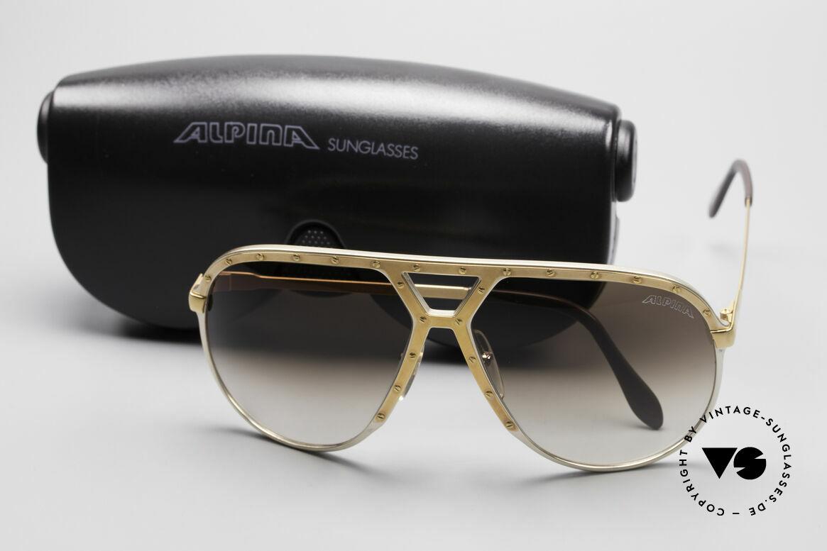 Alpina M1 80er Stevie Wonder Brille