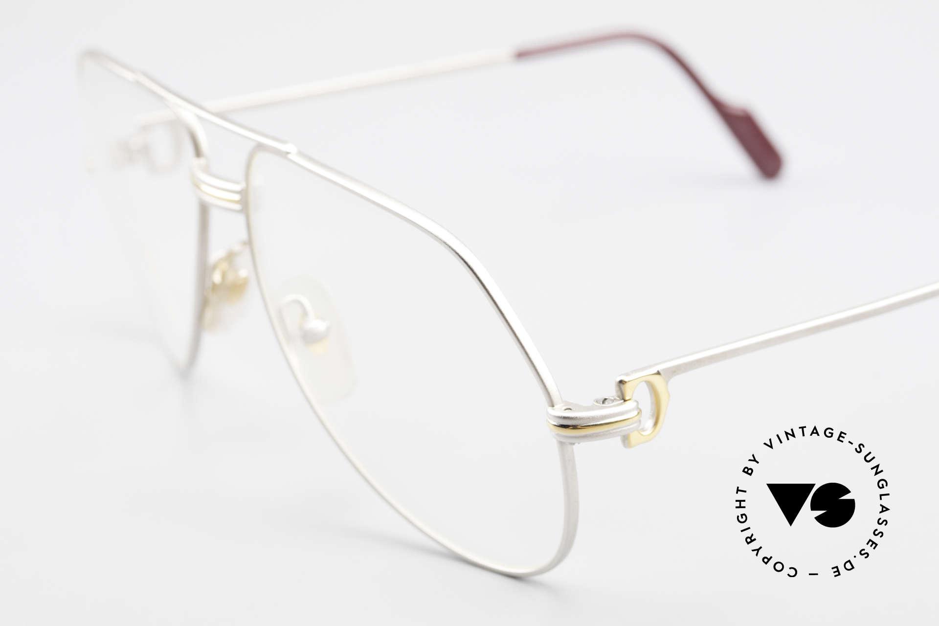 Cartier Vendome LC - M Kostbare Palladium Edition, seltene & entsprechend teure Palladium-Luxus-Edition, Passend für Herren