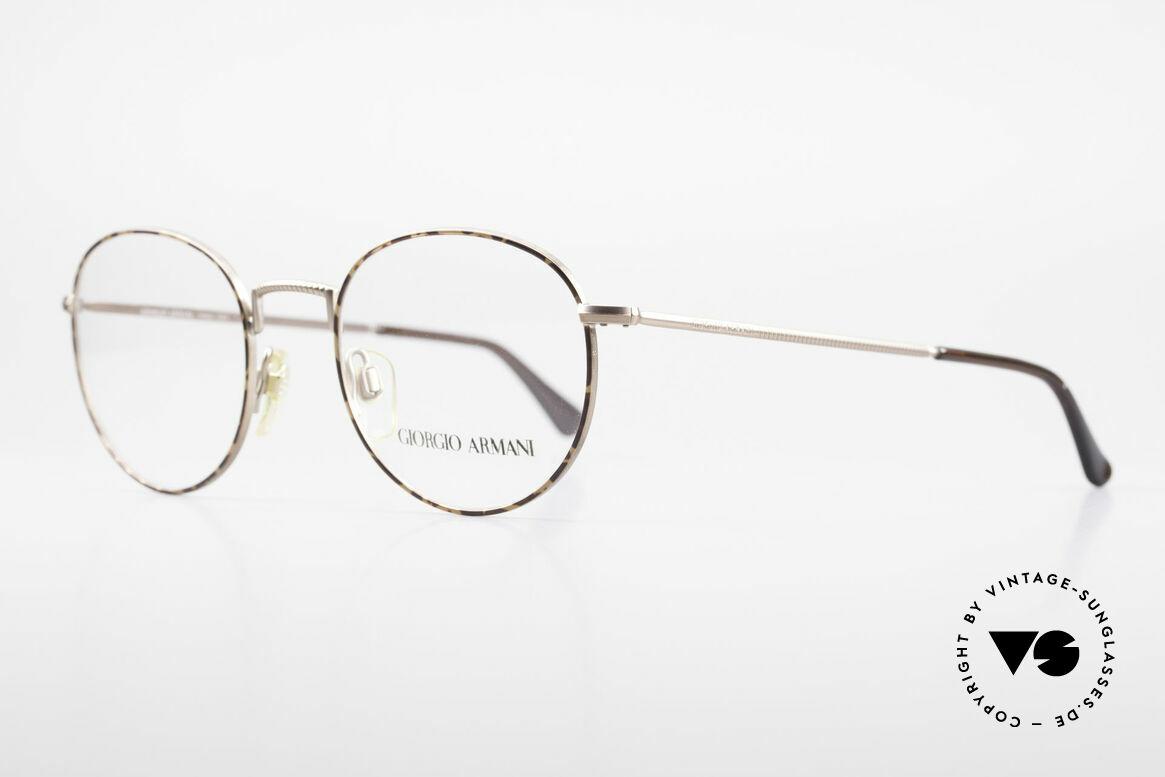 Giorgio Armani 231 80er Panto Brille No Retro
