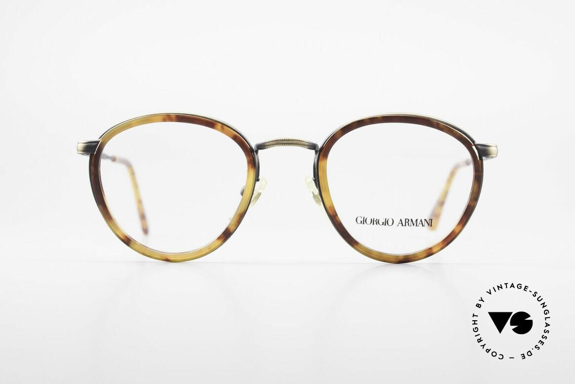 Giorgio Armani 101 Alte Panto Brille Herren 80er