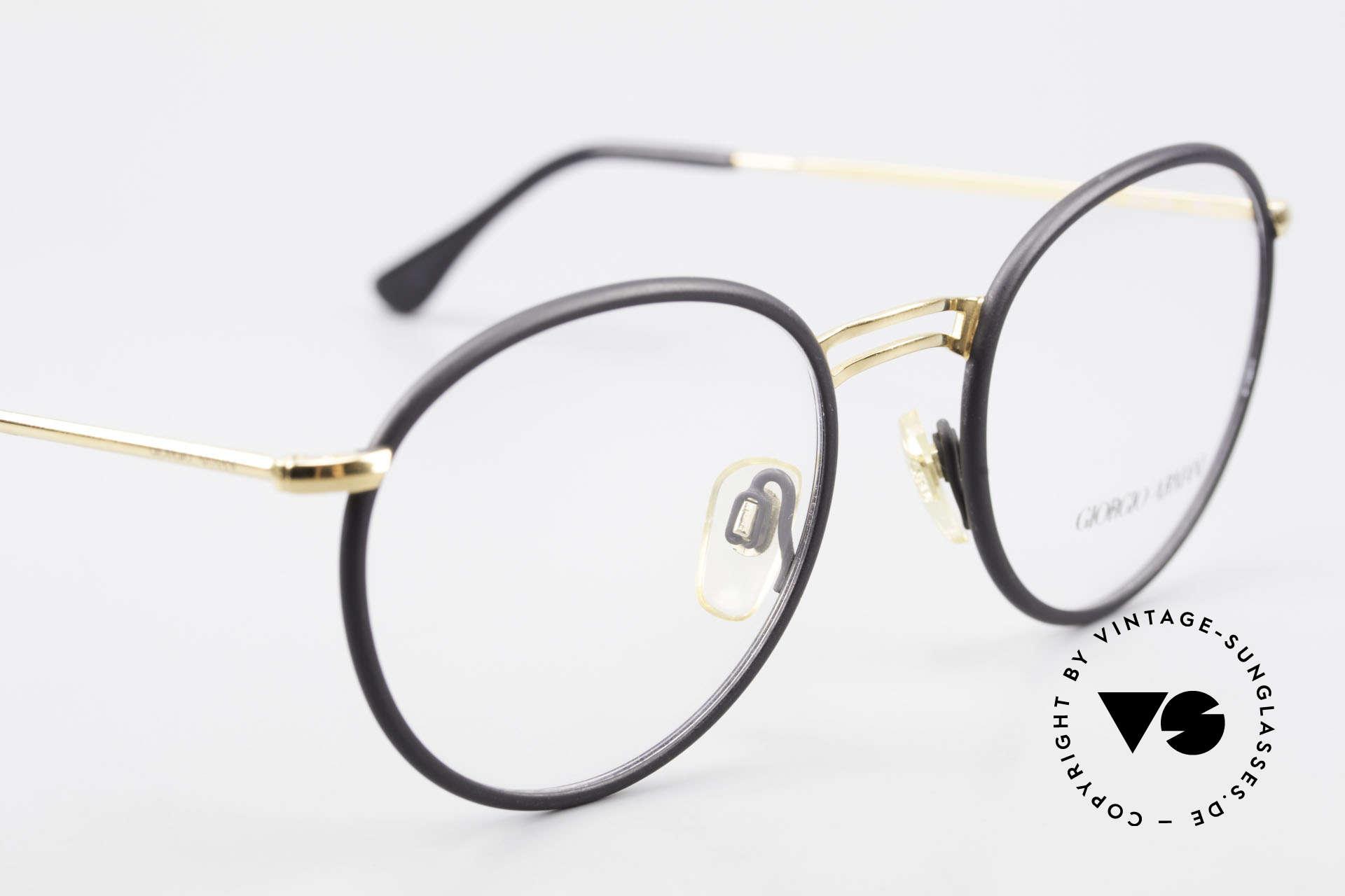 Giorgio Armani 152 Runde Vintage Brille Herren, KEINE Retromode, sondern ein altes Armani-Original, Passend für Herren