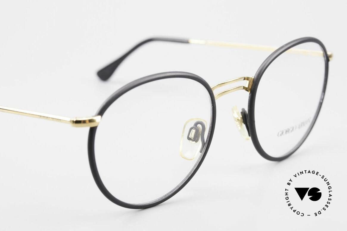 Giorgio Armani 152 Runde Vintage Brille Herren