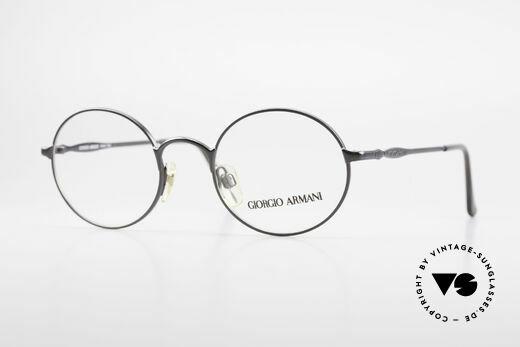 Giorgio Armani 243 Kleine Rund Ovale Brille 90er Details