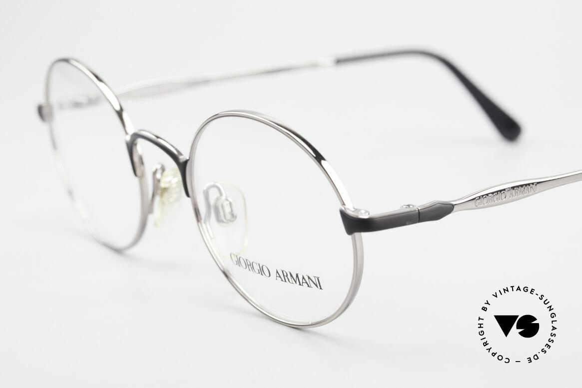 Giorgio Armani 243 Runde Ovale Brille 90er Small