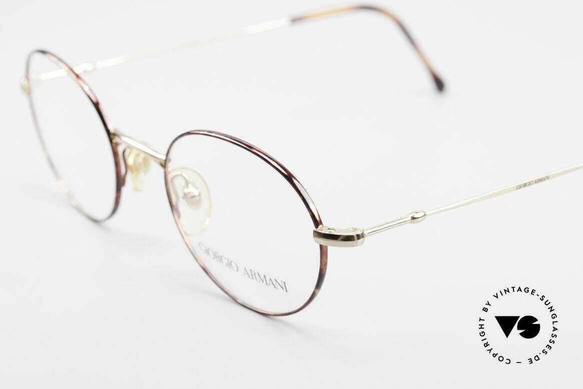 Giorgio Armani 252 Alte Vintage Brille Oval 90er, ungetragen (wie alle unsere 90er GA Brillenklassiker), Passend für Herren und Damen
