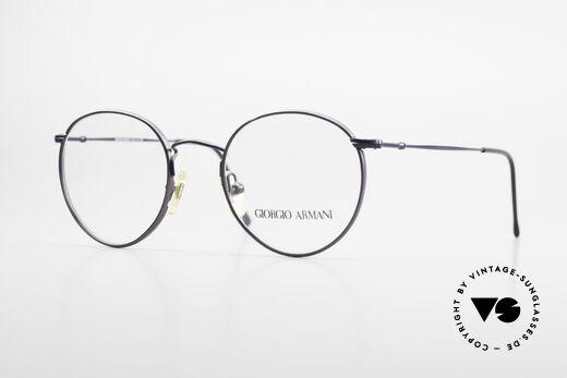 Giorgio Armani 253 Panto Vintage Brille Klassiker Details