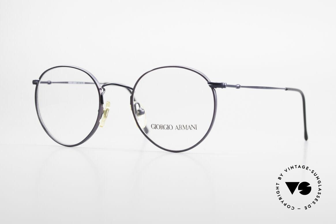 Giorgio Armani 253 Panto Vintage Brille Klassiker