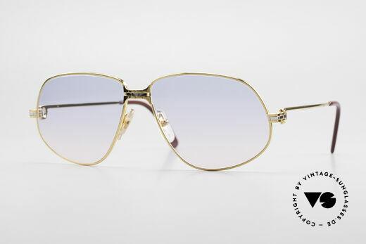 Cartier Panthere G.M. - L Luxus Sonnenbrille Gucci Etui Details