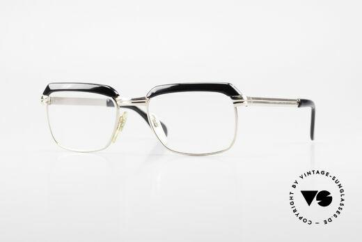 Metzler JK 60er Jahre Golddoublé Brille Details
