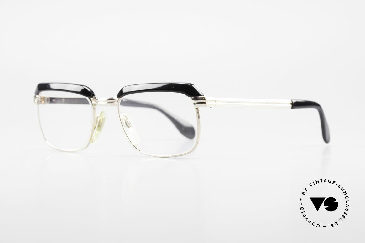 Metzler JK 60er Jahre Golddoublé Brille