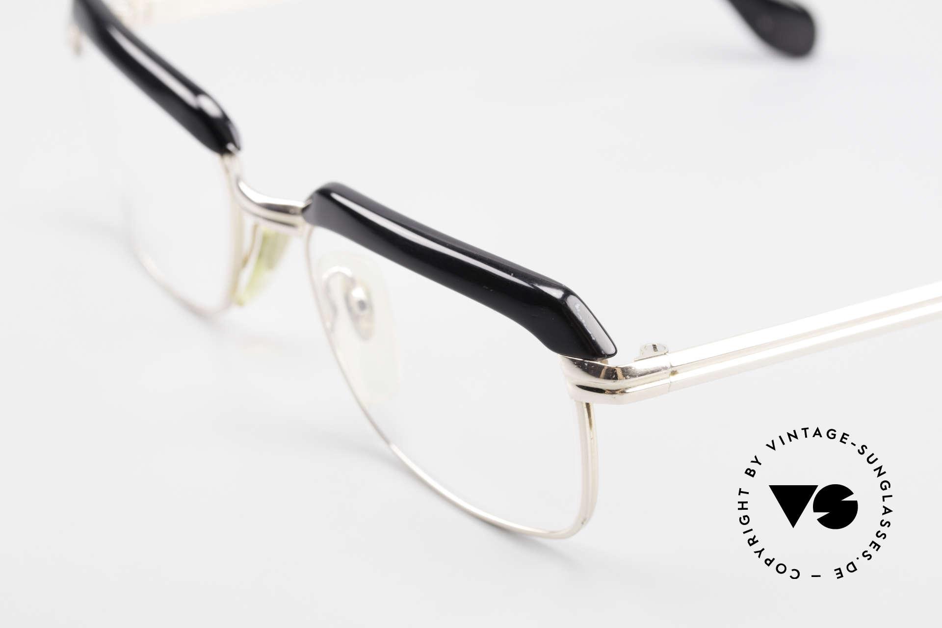 Metzler JK 60er Jahre Golddoublé Brille, wahre Rarität, heutzutage gar nicht mehr zu bekommen, Passend für Herren