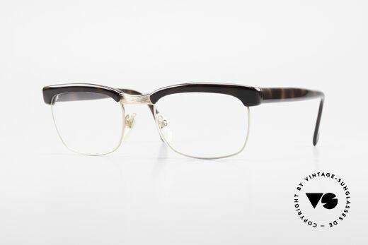Rodenstock Arnold 60er Jahre Golddoublé Brille Details