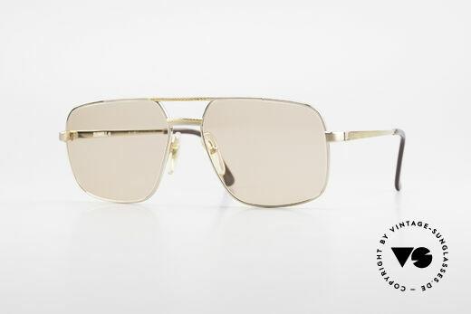 Dunhill 6068 Vergoldete Brille Automatik Details