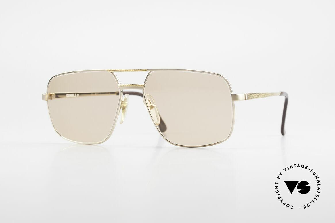 Dunhill 6068 Vergoldete Brille Automatik, premium vintage A. Dunhill Sonnenbrille von 1987, Passend für Herren