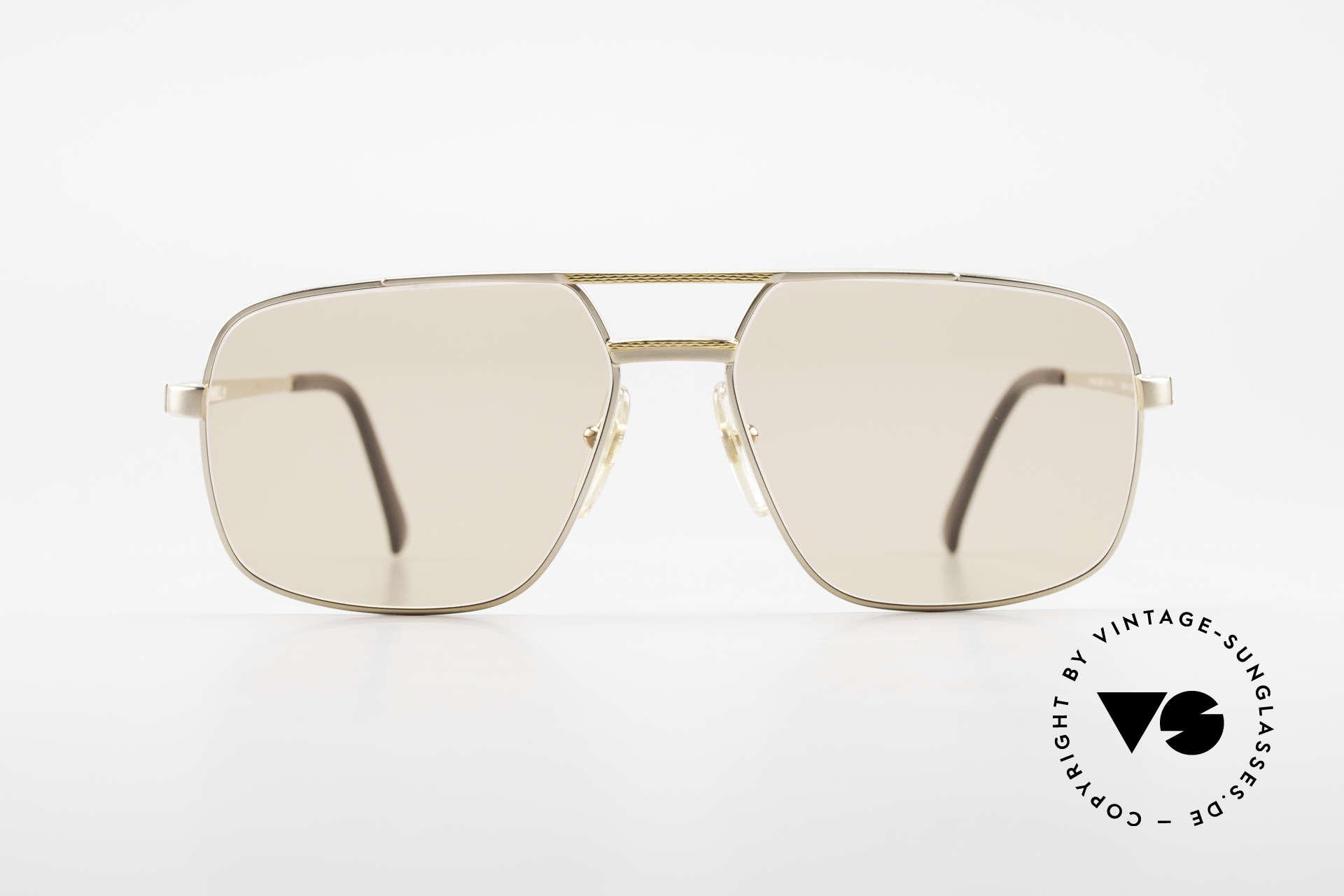 Dunhill 6068 Vergoldete Brille Automatik, die absolute Speerspitze in Sachen Brillen-Qualität, Passend für Herren