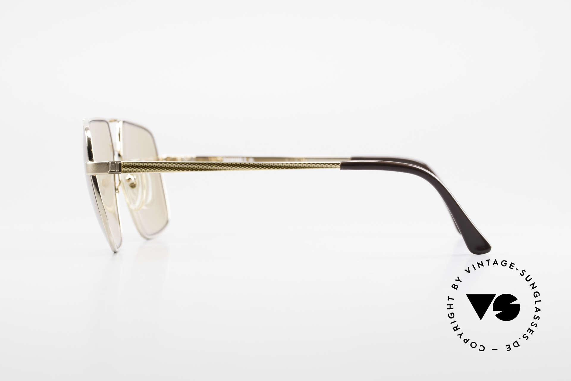 Dunhill 6068 Vergoldete Brille Automatik, distinguiert kultiviert: ein wahres Gentleman Modell, Passend für Herren