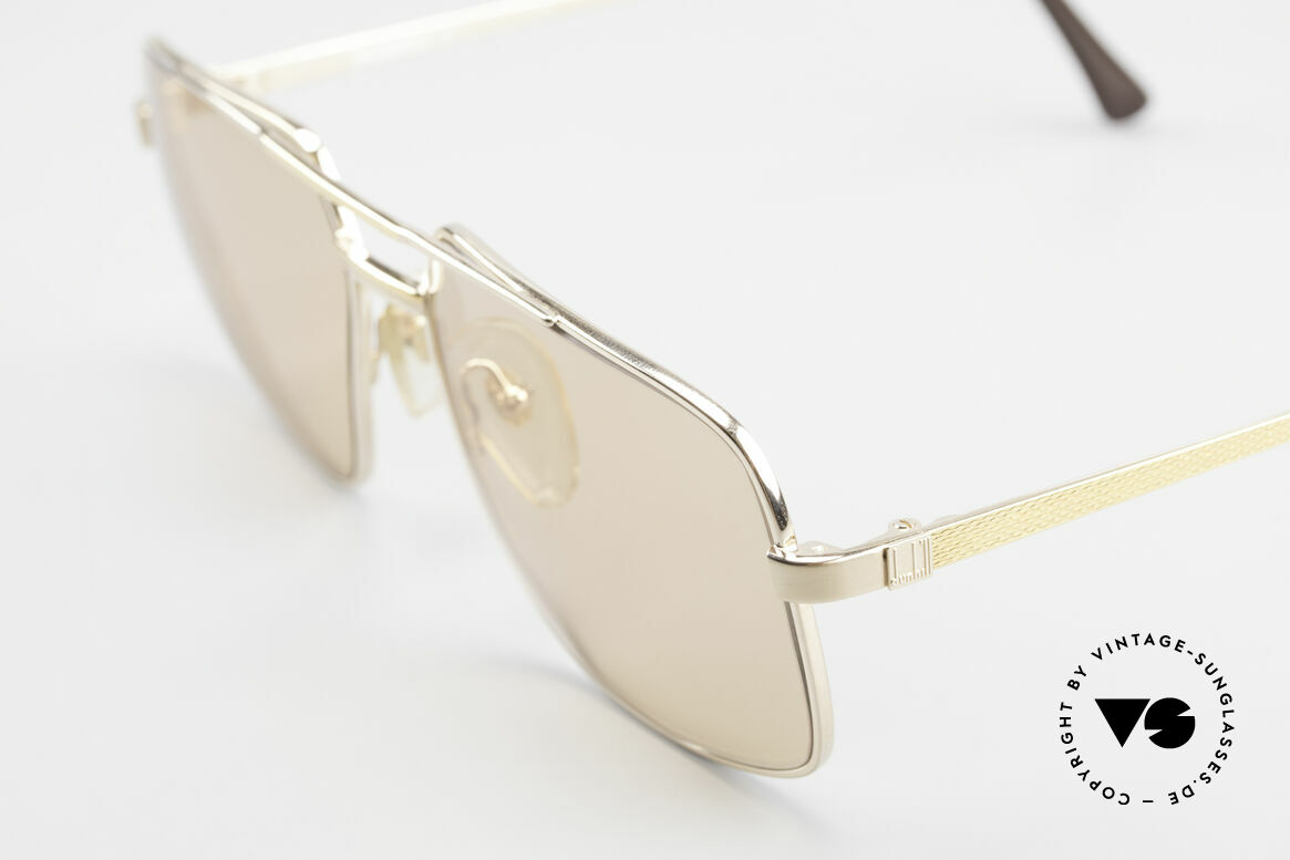 Dunhill 6068 Vergoldete Brille Automatik, mit Automatik-Gläsern (dunkeln bei Sonne selbst ab), Passend für Herren
