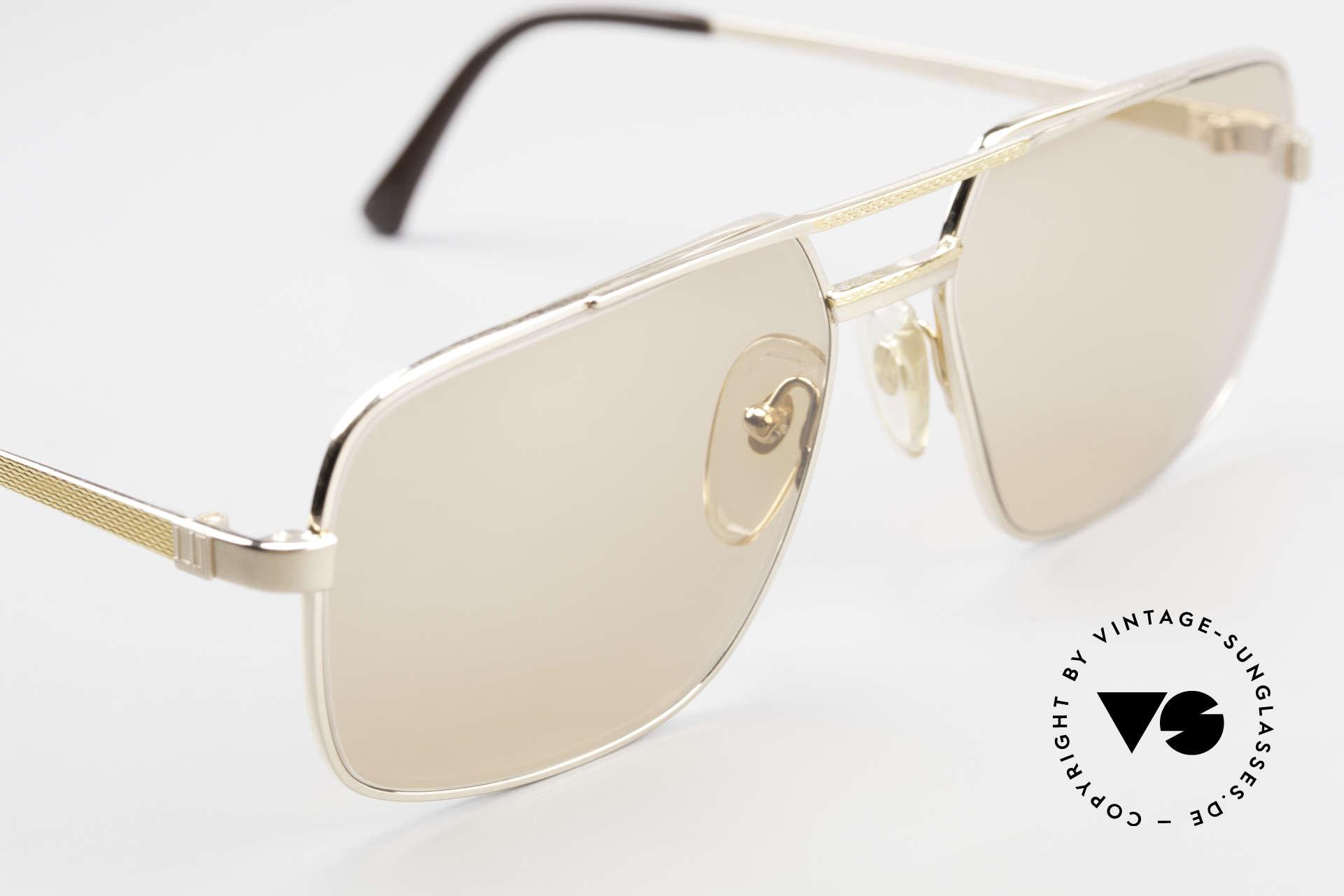 Dunhill 6068 Vergoldete Brille Automatik, ungetragen (wie alle unsere vintage Dunhill Brillen), Passend für Herren