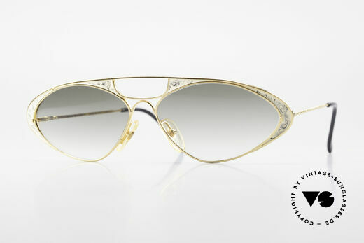 Casanova LC8 Vintage Sonnenbrille Damen Details
