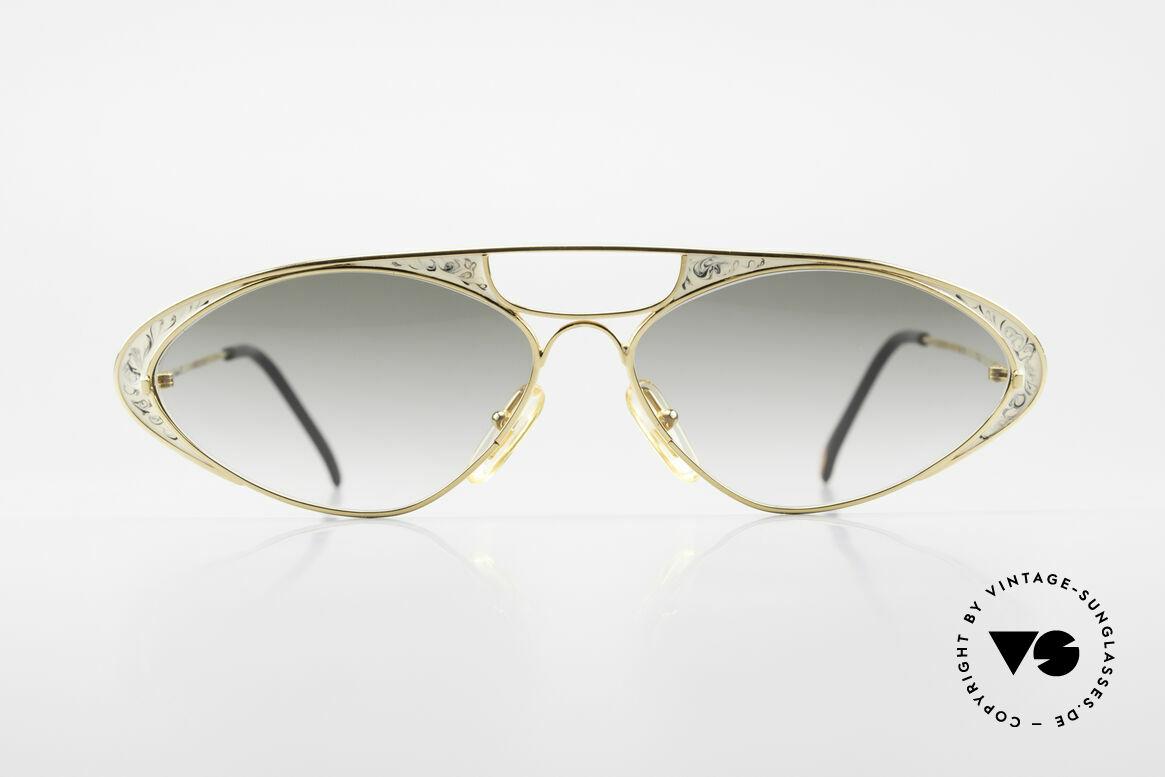 Casanova LC8 Vintage Sonnenbrille Damen, tolles Zusammenspiel v. Farbe, Form & Funktionalität, Passend für Damen